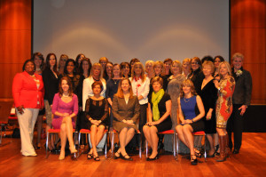 Influential Women Class of 2013 group photo