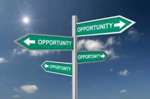 Opportunity is EVERY WHERE