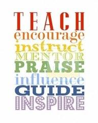 teach and encourage