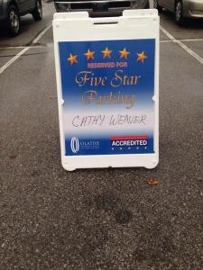 5-star parking