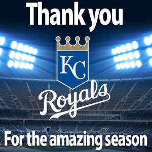 Royals thank you